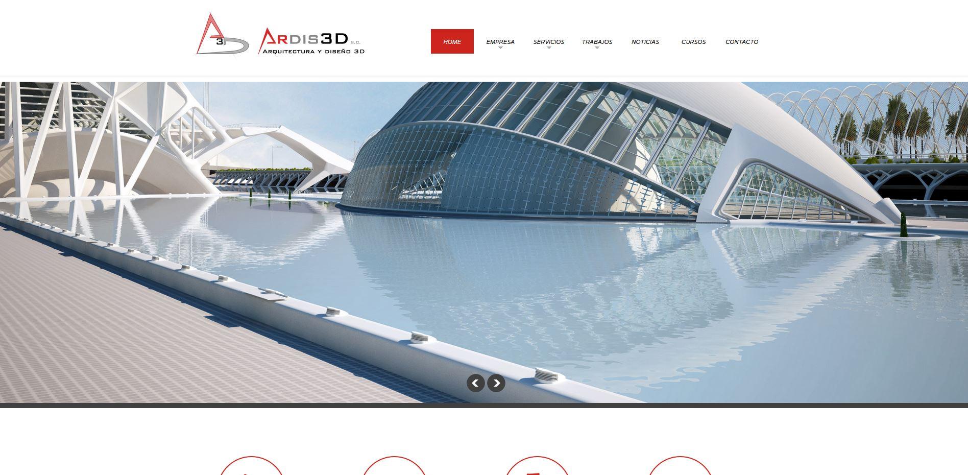 P ginas web arquitectura y 3d valencia ardis3d - Paginas de arquitectura y diseno ...