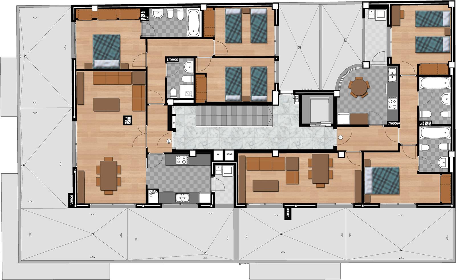 Planos 2d arquitectura y 3d valencia ardis3d proyectos for Arquitectura planos y disenos