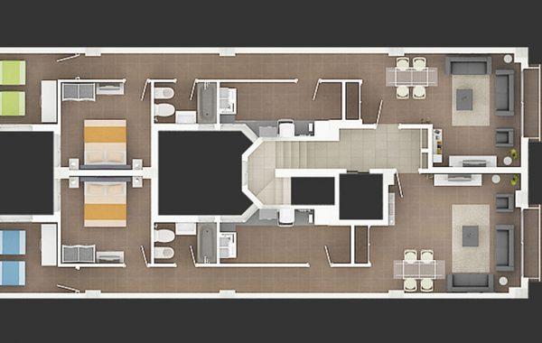 Arquitectura Plano 2D Valencia