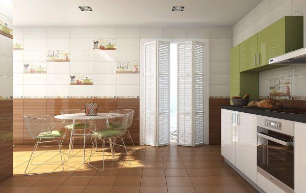 Cocina 3D Cerámica Acuarela