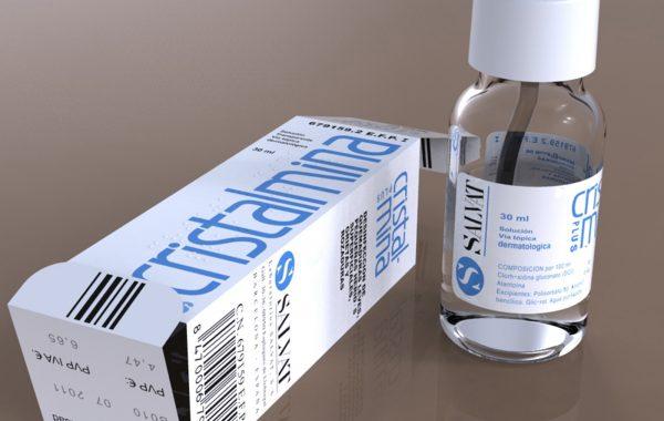 Producto 3D Botella y Caja