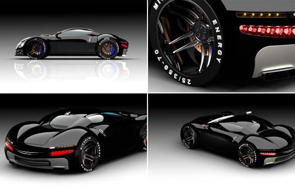 Bugatti veyron 3D
