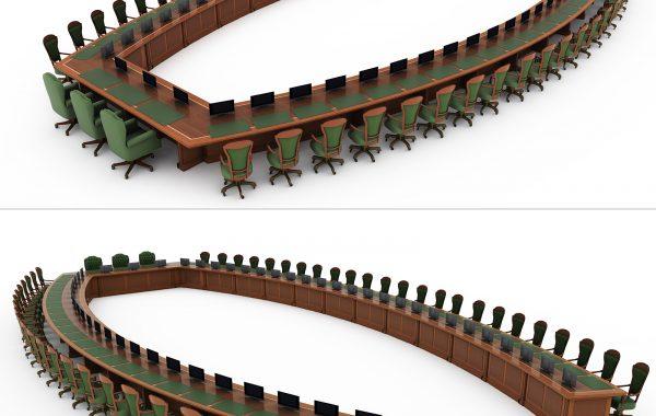 Gran mesa 3D