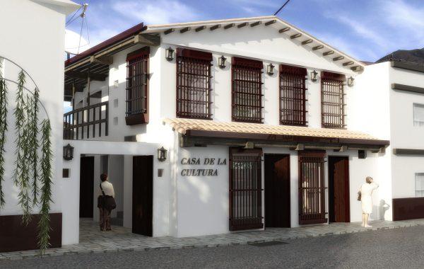 Casa de la Cultura exterior 3D