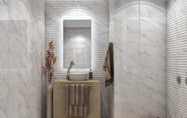 Ambiente baño Carrara