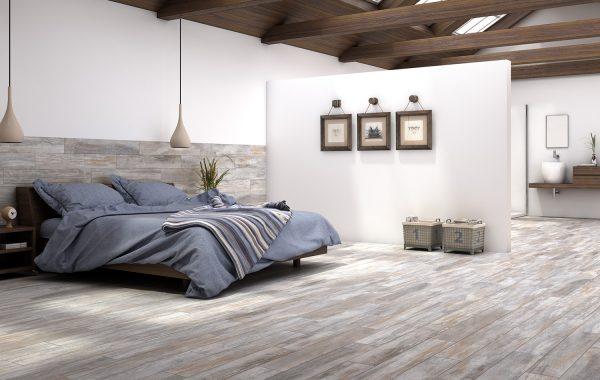 Ambiente dormitorio Madera