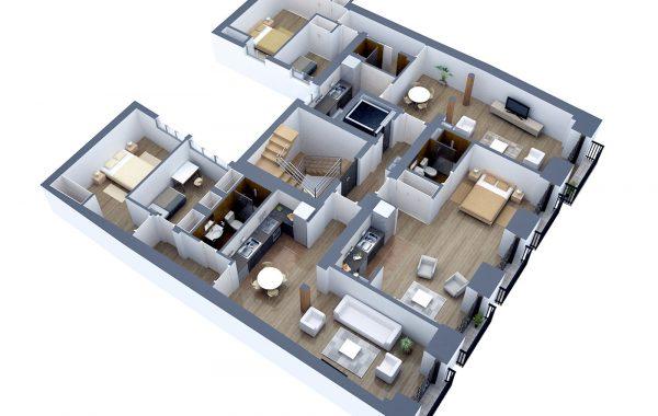 Sección 3D 6