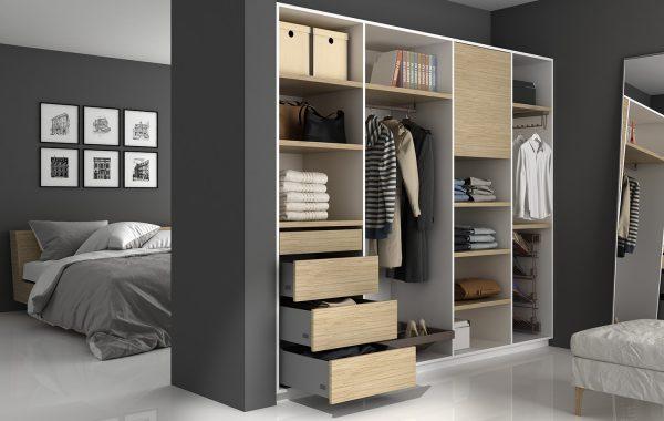 Ambiente dormitorio Slim