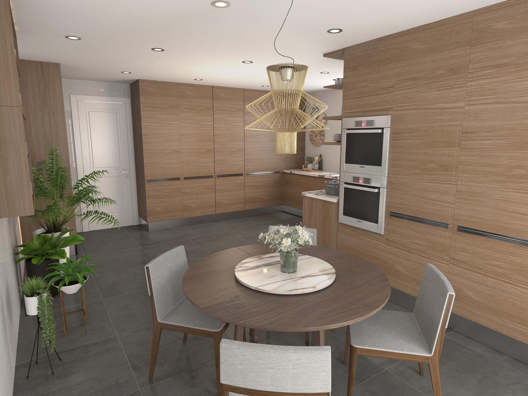 Dise o 3d cocina valencia - Diseno cocina 3d ...